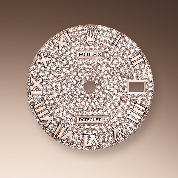 パヴェダイヤモンド入りダイアル